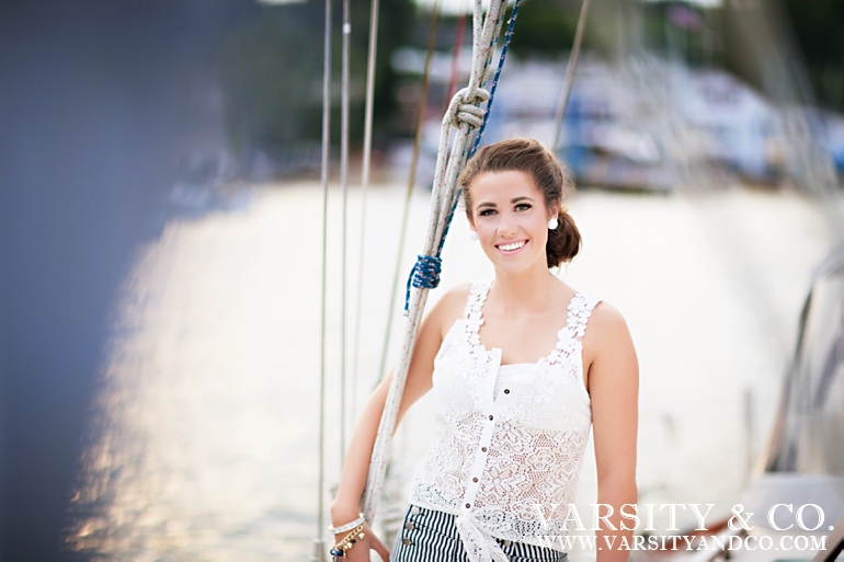 Sailboat Nautical senior session