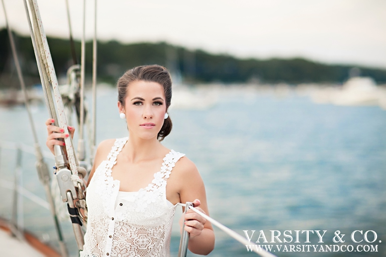 Nautical senior session
