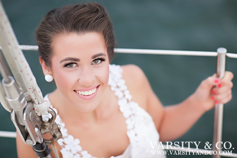 Sailboat senior pictures