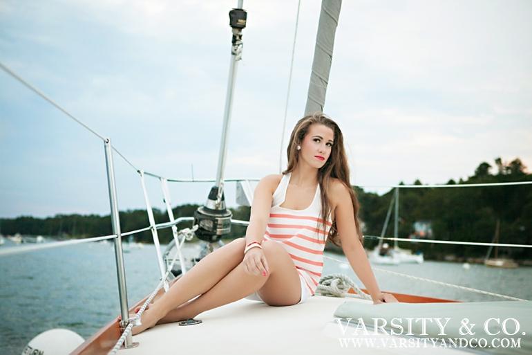 Nautical senior session