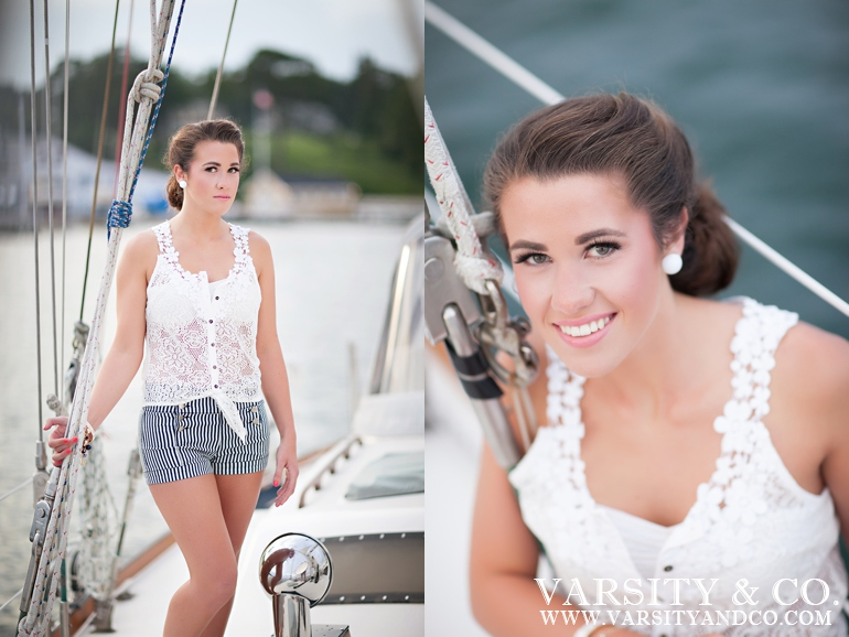 Senior Picture on a boat